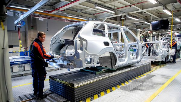 File photo of a car factory used for representational purpose only (via REUTERS)