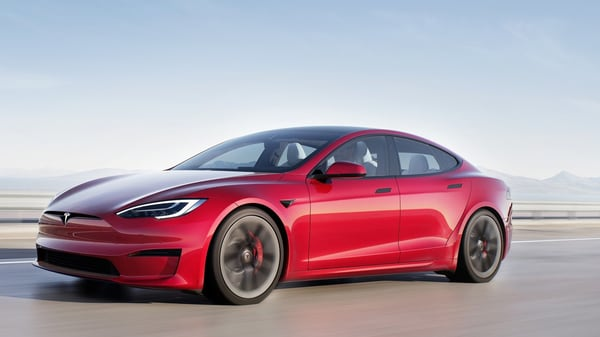 Tesla introduced the updated Model S just a few months back.