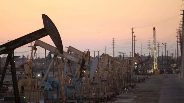 Global benchmark Brent crude futures have surged 44% this year. (REUTERS)