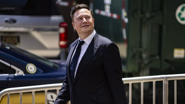 Musk didn't say he wouldn't ever be on the calls, just that it wouldn't be the default from here on. (Bloomberg)