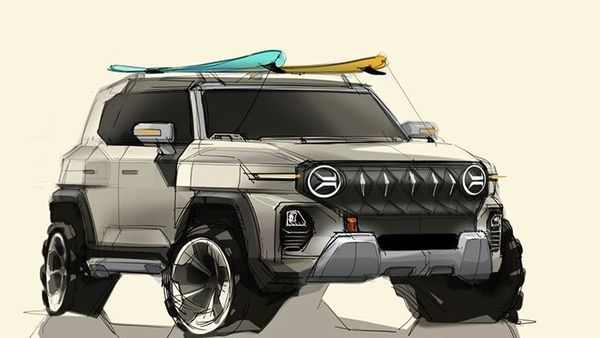 SsangYong Motor has released two sketches previewing the upcoming SUV X200 based on the new design language that will be implemented in its future vehicles.