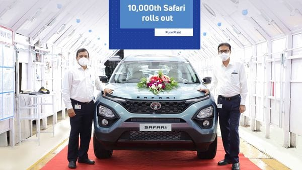 The all new Safari achieves its first milestone in just 5 months. 10,000th Tata Safari rolls out from Tata Motors' Pune plant.