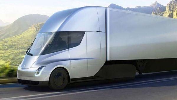 Tesla Semi electric truck. (File photo)
