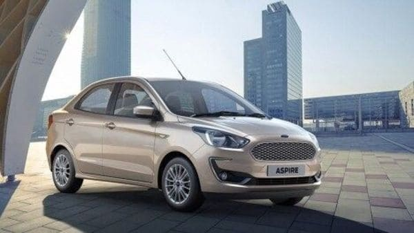 Ford may launch Aspire sedan with six-speed automatic gearbox soon.