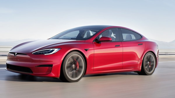 Representational image of the Tesla Model S Plaid which was officially launched earlier this year.