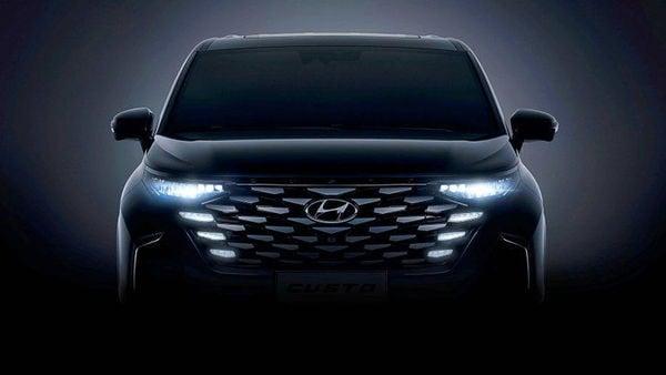 Hyundai Motor has teased Custo MPV, its new minivan, ahead of launch in China.