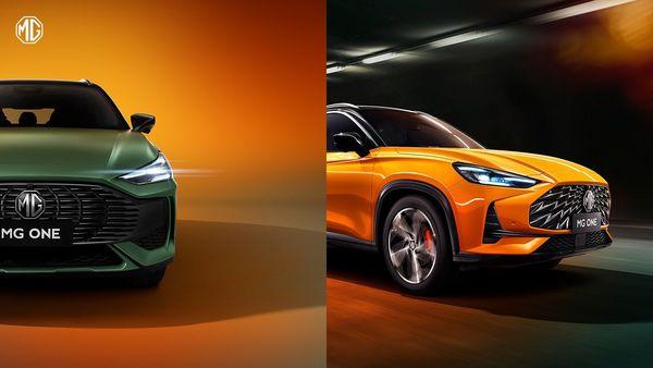 MG One SUV is based ona new modular platform.