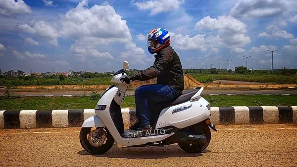 TVS iQube is one of the most affordable e-scooters present in India today. (HT Auto/Sabyasachi Dasgupta)