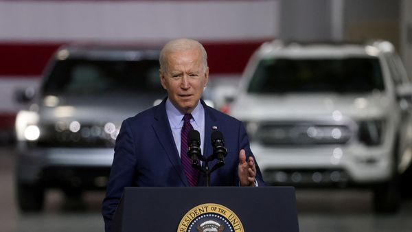 US President Joe Biden has been vocal of his opinion that electric vehicles need to be made far more popular than these currently are. (REUTERS)