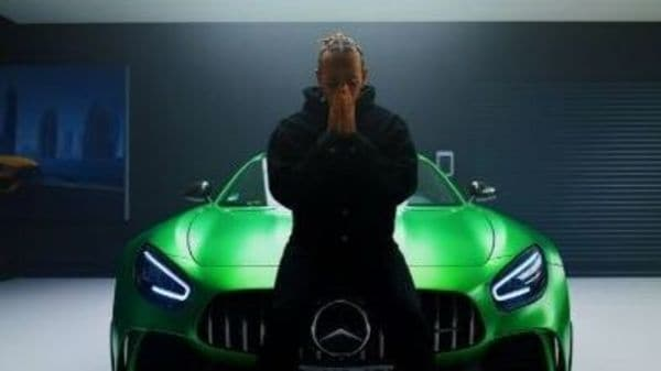 This image was tweeted by @LewisHamilton