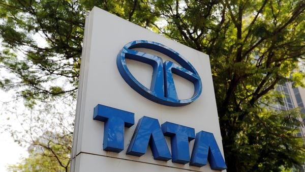File photo of Tata Motors logo (REUTERS)
