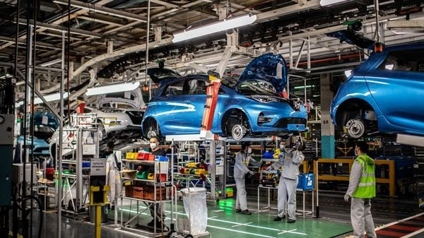 For the first seven months of the year, car registrations in France rose 16% over the same period in 2020, when sales were depressed during the first wave of the pandemic. (AFP)