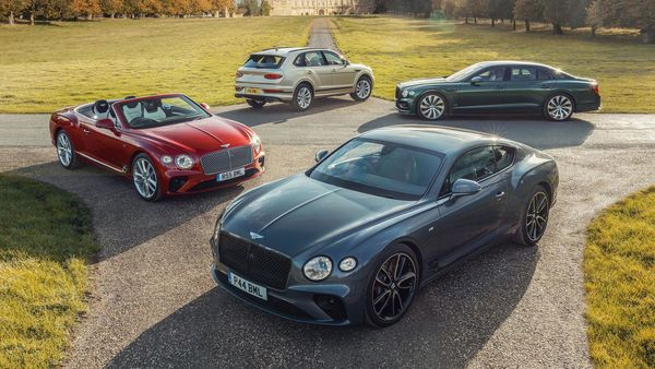 Bentley currently has a network of 240 retailers in 67 countries.