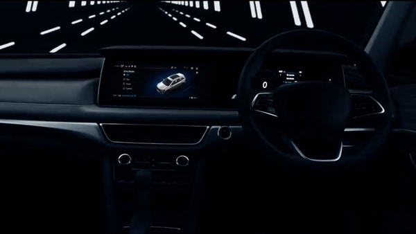 Mahindra XUV700 SUV will come with a newly designed dashboard with a new UI Adrenox.