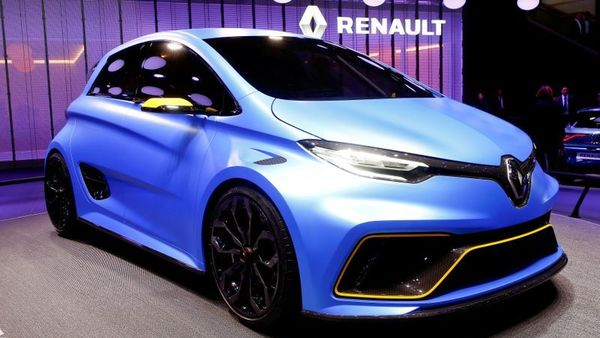 Renault, with brands including Alpine and Dacia, has said it would like 90% of Renault models to be fully electric by 2030. (REUTERS)