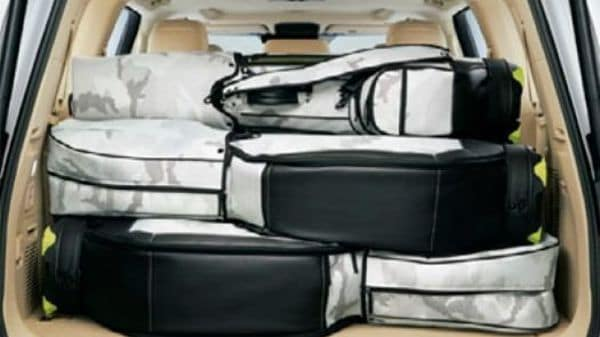 The new SUV comprises enough space to help the user carry more than just the essentials. (Toyota)