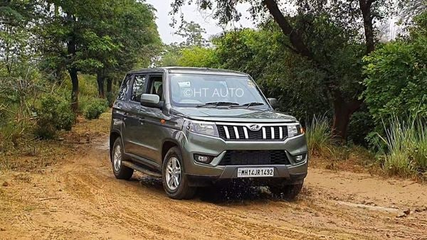 Mahindra has reported a two-fold jump in passenger vehicles in July, and expects the new Bolero Neo to continue driving sales numbers in coming days. (HT Auto/Sabyasachi Dasgupta)