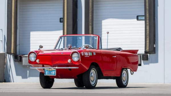 1965 Amphicar Model 770 Cabriolet (Image source: Bonhams)