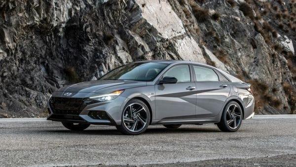 Hyundai Elantra N Line was recently showcased in the US.
