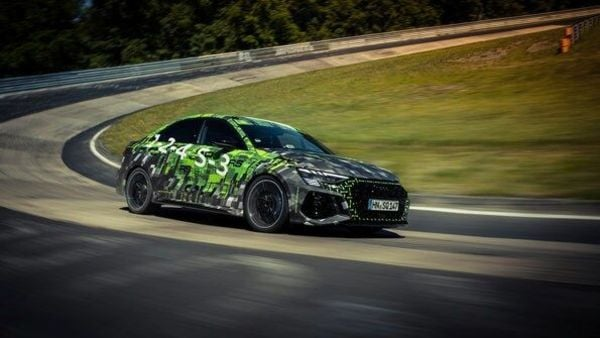 Audi claims that the RS3 sedan had no modification onboard before appearing for the lap run.