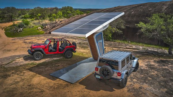 The future Jeep electric SUVs would get autonomous off-roading capabilities, remote vehicle tracking.