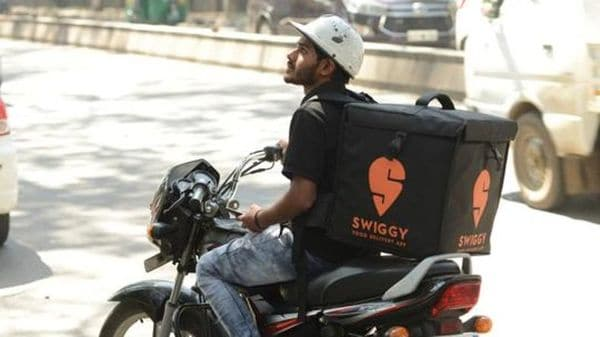 Swiggy is currently conducting trail runs for electric vehicle deployment in its fleets in Bengaluru, Delhi and Hyderabad. (Image used for representational purpose only) (HT_PRINT)