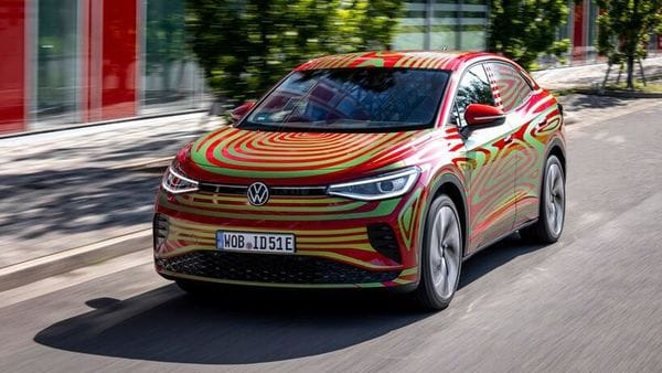 Volkswagen's all-electric ID.5 GTX SUV coupe. (Volkswagen)