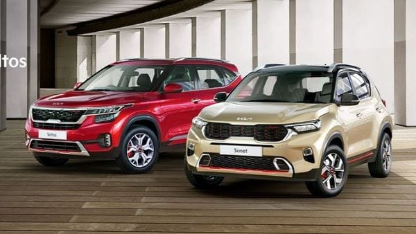 Kia Seltos and Sonet are two main volume garners for the South Korean auto major in India.