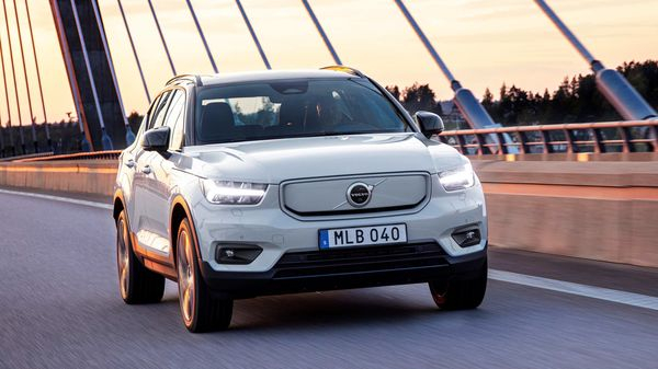 Photo of a Volvo XC40 Recharge SUV.