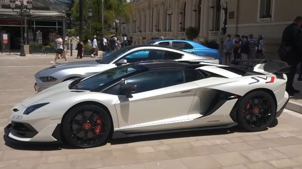The Lamborghini Aventador SVJ Roadster is one of the most expensive supercars in the world. (Image: Youtube/Fipeux)