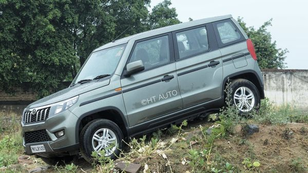 The power source for this SUV is a 1.5-litre three-cylinder mHawk diesel engine mated to a 5-speed manual gearbox. (HT Auto/Mithlesh Kumar)