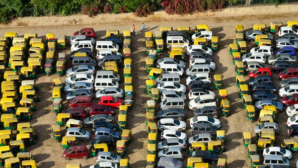 Delhi transport department keeps hundreds of impounded vehicles at locations such as Burari, Dwarka and Sarai Kale Khan. (PTI)