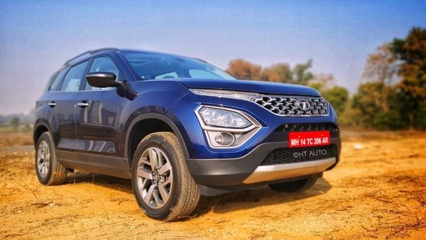 Tata Motors hopes the new variant of Harrier and Safari will beef up their appeal to the buyers. (Image: HT Auto/Sabyasachi Dasgupta)