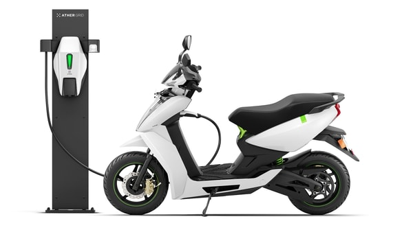 File photo of Ather 450X electric scooter.