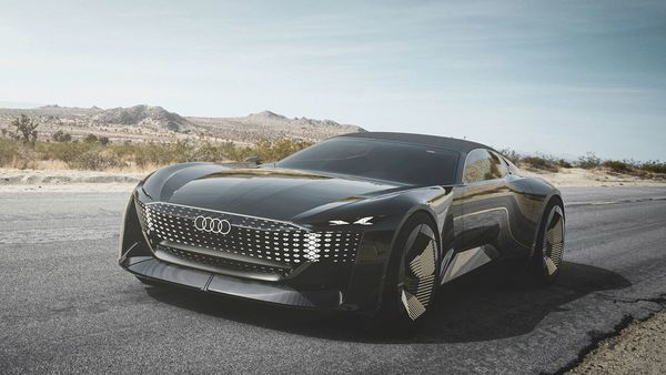 Audi Skysphere concept is an electrically powered two-door convertible with Level 4 autonomous driving technology.
