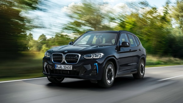 BMW iX3 facelift launched with updated design and new tech.