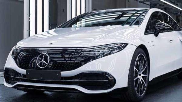 Mercedes EQS electric sedan