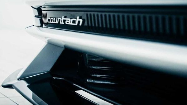 The new Lamborghini Countach gets a sleek and sharp nose, just like the original model. (Image: Instagram/Lamborghini)