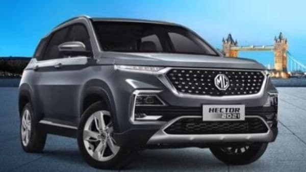 MG Hector Shine comes as a mid-variant of the SUV.