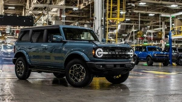 2021 Ford Bronco at Michigan assembly plant. (File photo)