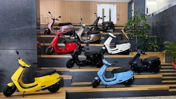 Ola Electric scooter S1 is being offered in as many as 10 colour options.