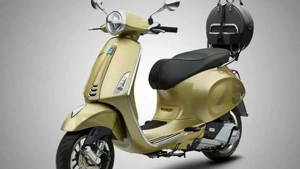 Vespa has previously announced the 75th Anniversary models on the occasion of completing 75 years of operations.