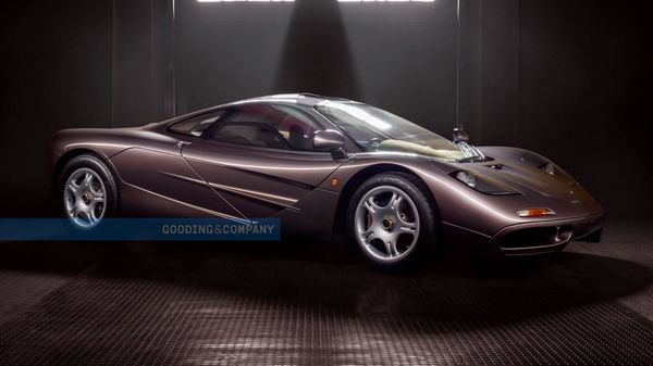 1995 Mclaren F1 was sold in an auction. (Gooding & Company)
