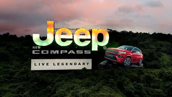 The installation by Jeep India.