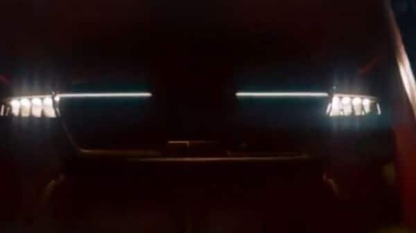 Kia has teased the car's headlamps and front grille. (Image: Youtube/KiaIndia)