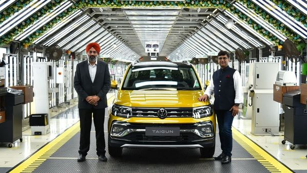 Volkswagen Taigun SUV will be available with two petrol engine options.