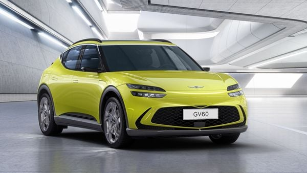 Genesis GV60 is the luxury auto brand's first electric SUV.