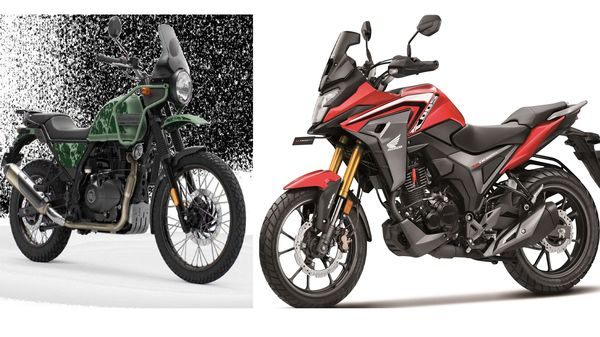 While the Himalayan features a half-duplex split cradle frame, the CB200X comes with a diamond type steel frame.