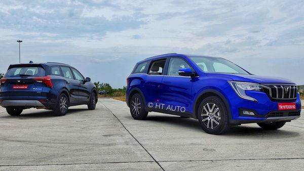 Mahindra XUV700 gets three modes - Zip, Zap and Zoom. There is a custom drive mode that allows the driver to tweak individual drive traits. (HT Auto/ Sabyasachi Dasgupta)