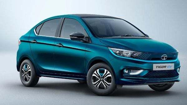 New Tigor EV gets a completely redesigned look compared to the outgoing model.